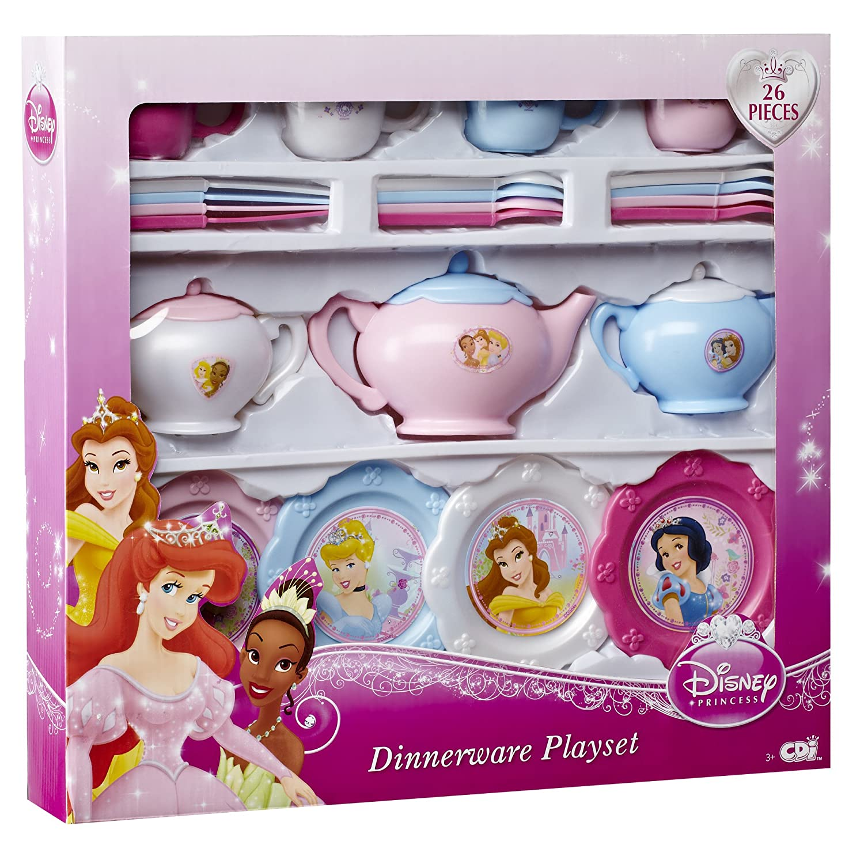 sc 1 st  Amazon.com & Amazon.com: Disney Princess Dinnerware Set: Toys u0026 Games