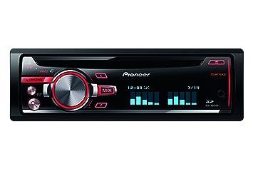 Pioneer DEH-X8600BT - Radio con CD/DVD para coches: Amazon.es: Electrónica