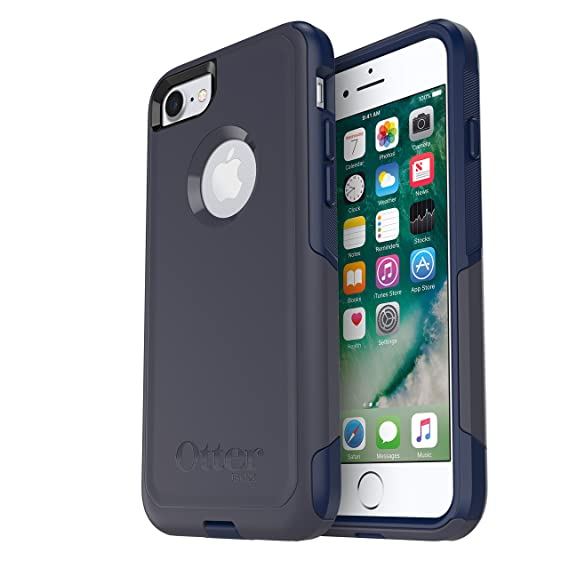 check out 9fe1c 799f0 OtterBox COMMUTER SERIES Case for iPhone 8 & iPhone 7 (NOT Plus) - Retail  Packaging - INDIGO WAY (MARITIME BLUE/ADMIRAL BLUE)