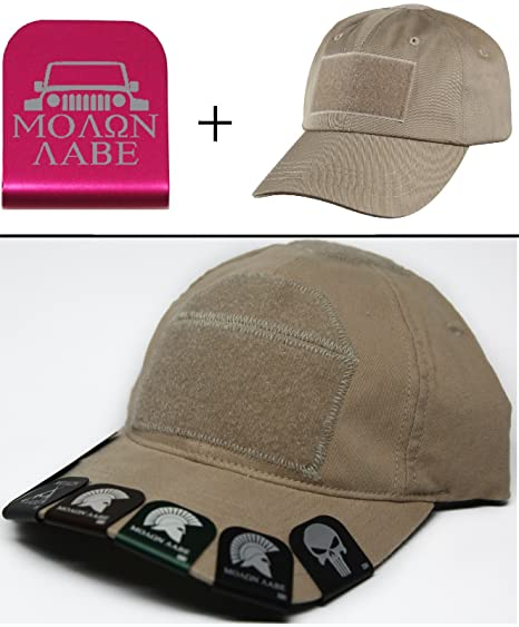 aae88202 Image Unavailable. Image not available for. Color: Ultimate Arms Gear Molon  Labe Jeep Wrangler Cap Crown Rim Brim-It Pink ...