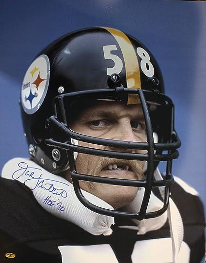 67e27a2b503 Autographed Jack Lambert HOF 90 Pittsburgh Steelers 16x20 Photo w Lambert  Hologram