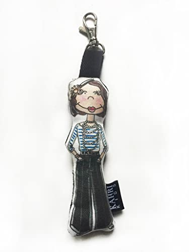 6ca36cef575e Amazon.com: Mini Coco Chanel Doll Bag Charm: Handmade