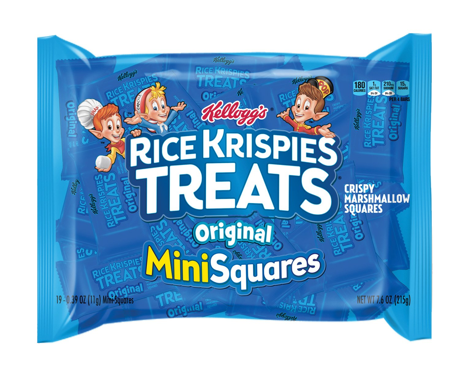 Rice Krispies Treats Mini Squares Made with Whole Grain, 600 Count