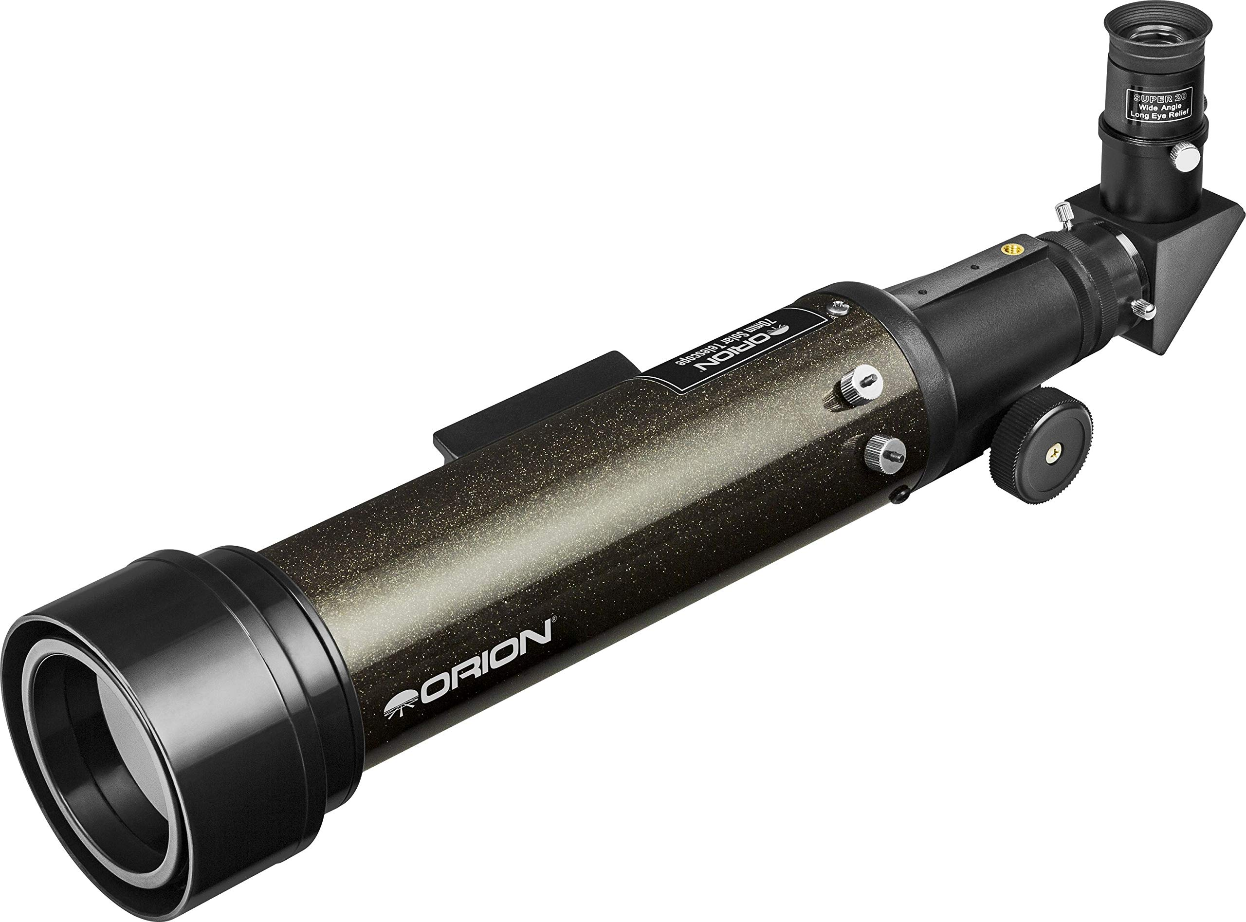 Orion 10381 White-Light Solar Refracting Telescope, Black by Orion
