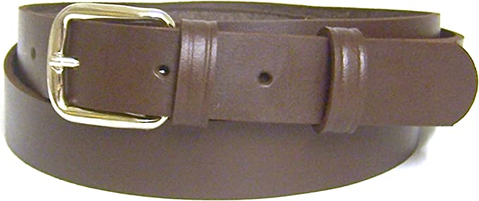- Silver Buckle. UK Sizes 8-22 Womens Brown Leather Belt 100/% Real Leather Handmade in UK 30mm Wide