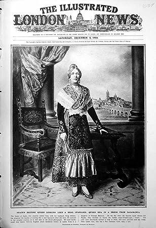 Amazon.com: Print SpainS British Queen Like Real Spaniard ...