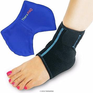 Amazon.com: Envoltura de hielo para pies y tobillos con ...