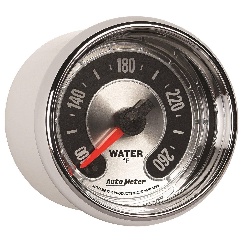 Auto Meter 1255 American Muscle 2-1/16'' Water Temperature Gauge by Auto Meter (Image #1)