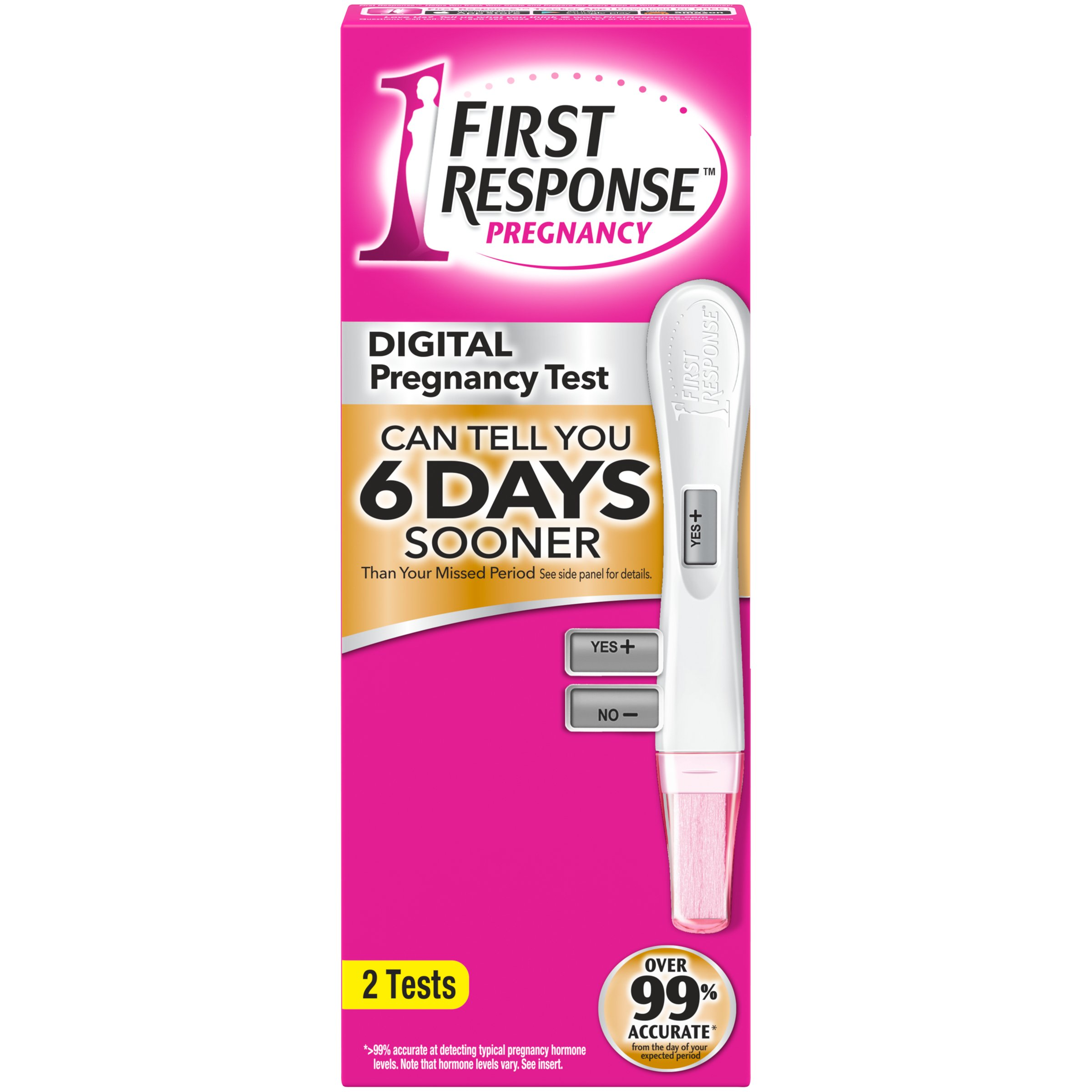 First Response Early Result Gold Digital Pregnancy Test -