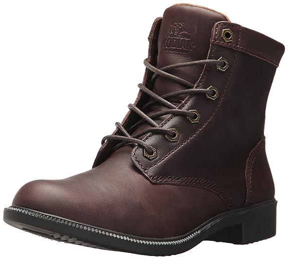 Amazon.com: Kodiak - Botas de invierno para tobillo (piel ...