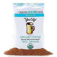 Tyler's No Acid Organic Ground Coffee - 100% Arabica Full Flavor - Neutral pH -...