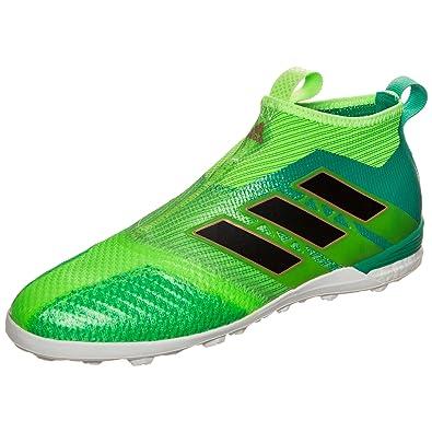 san francisco 20e71 e85d3 adidas Ace Tango 17+ Purecontrol TF, Chaussures de Football Homme, Vert  neongrün