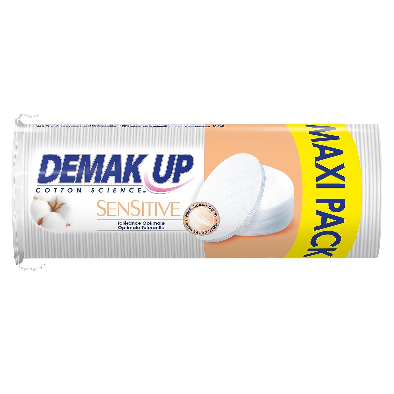 Demak'up Sensitive Wattepads/Abschminkpads, 4er-Set Demak' up
