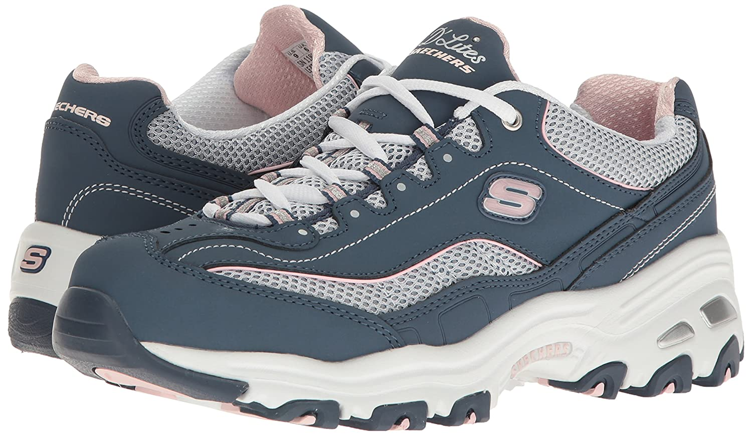 Skechers Kvinners D'lites-life Saver Low-top Sneakers Fnp19aR