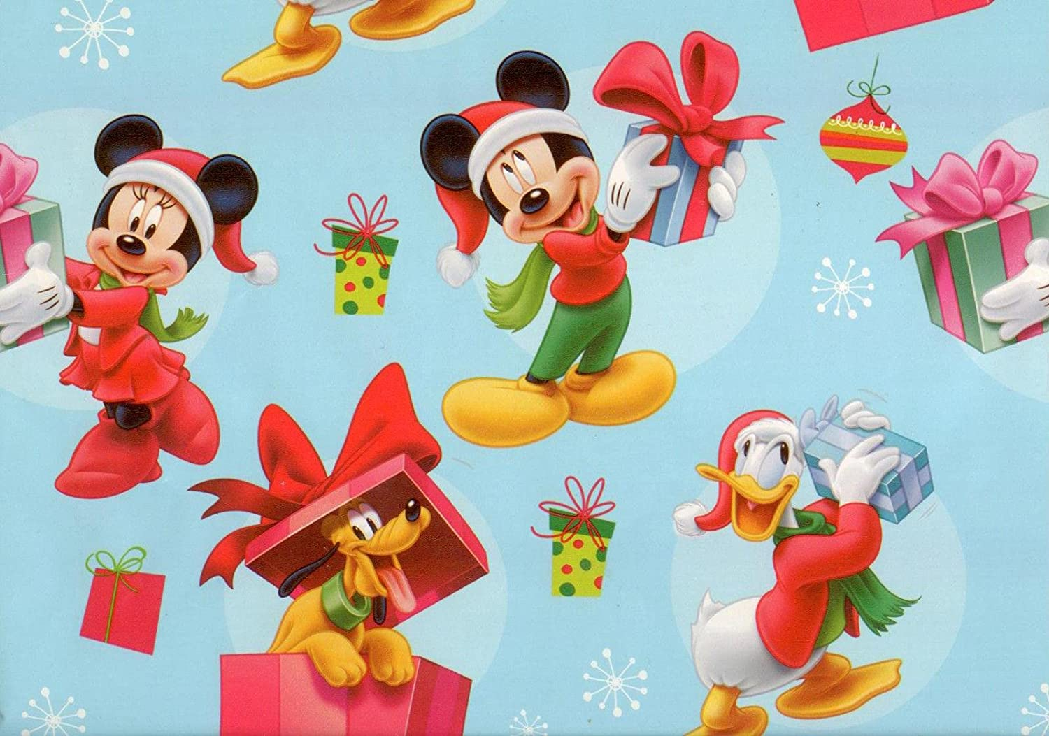 Amazon.com: Disney's Mickey Mouse, Pluto and Donald Duck Christmas ...