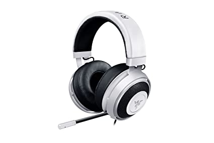 Razer Kraken Pro V2 Analog Gaming Headset with Retractable Microphone for  PC, Xbox One and Playstation 4, White