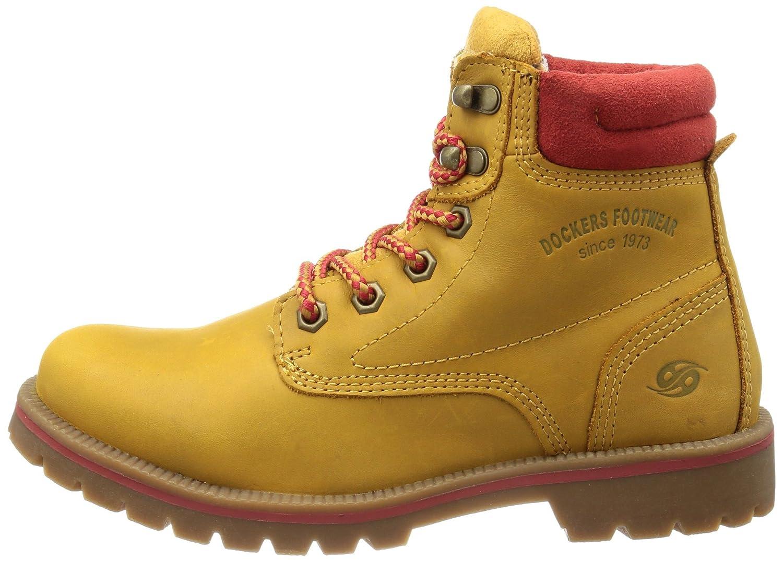 Dockers by Gerli 330512 007555, Damen Desert Boots, Beige (golden tanrot), EU 42