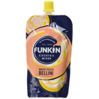 Funkin Peach Bellini Cocktail Mixer, 120g (Pack of 8)