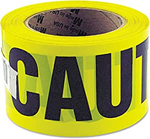 GreatNeck 10379 Caution Tape, 3 Inch x 1000 Feet