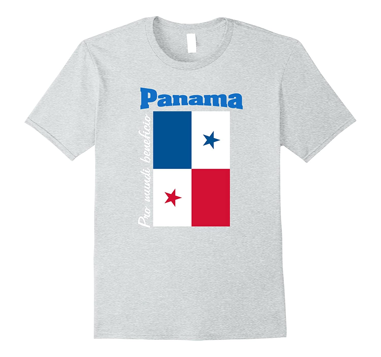 Bandera Panama Panamanian Flag Tee T-Shirt-CD