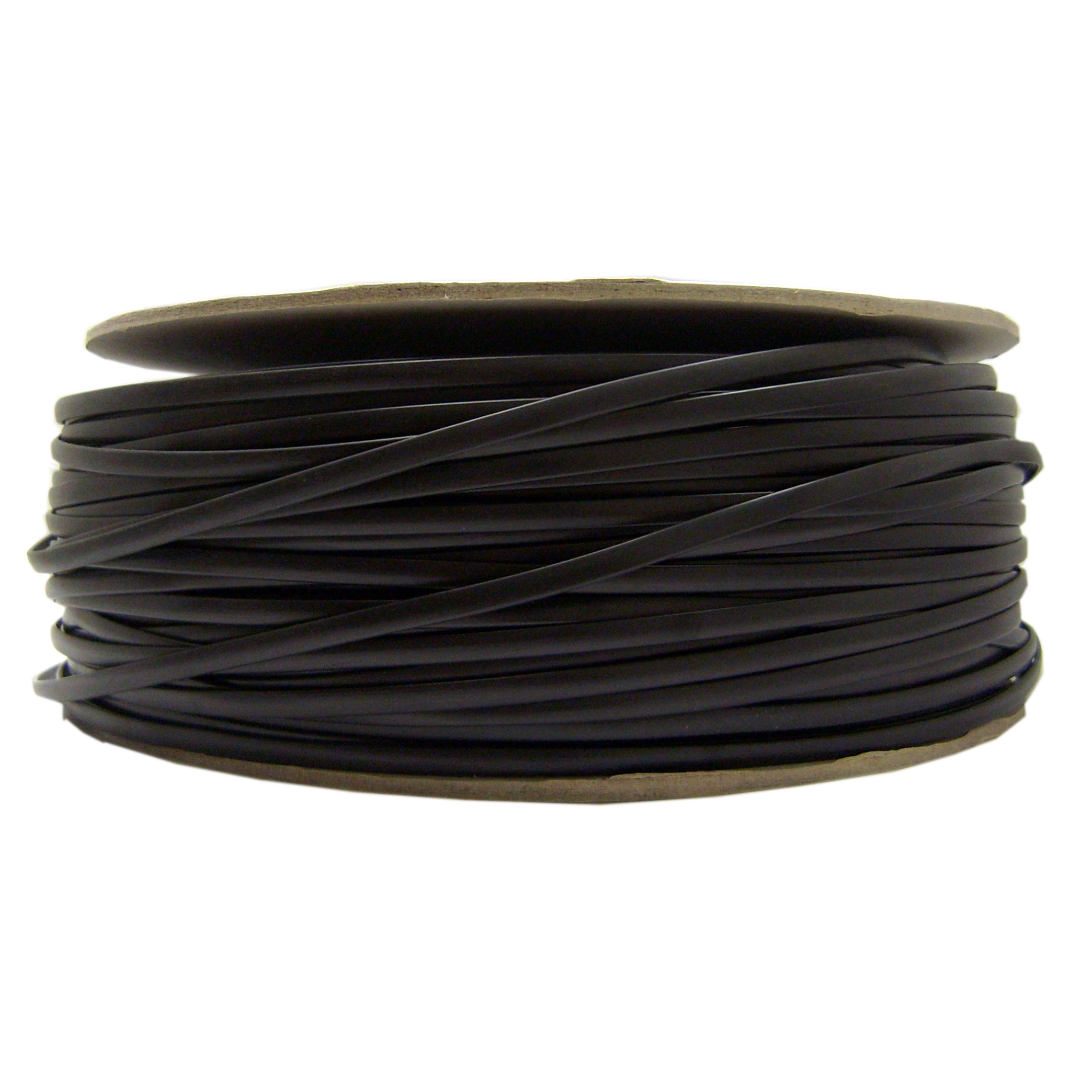 ACCL 26 AWG/6 Conductor Phone Cord, Bare end, Spool, Black, 1000ft, 1pk
