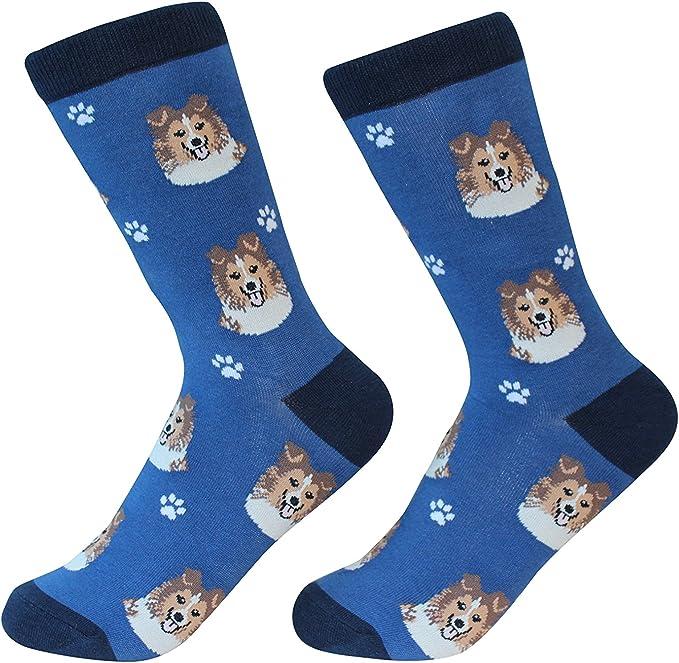Ladies 5 pairs Blue Doggy Socks Bargain Walk Deal Offer summer