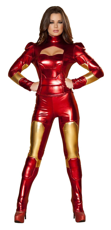 Envio gratis en todas las ordenes mujer Hot Metal súperhero súperhero súperhero Fancy dress costume Large  nuevo sádico