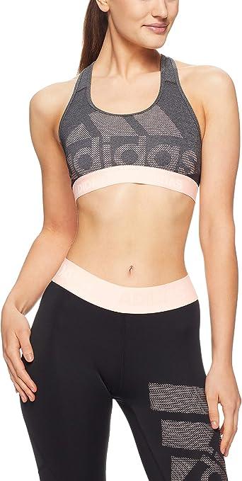 TALLA XS. adidas Don 't Rest Alpha Skin Long Sport BH Medio con Soporte