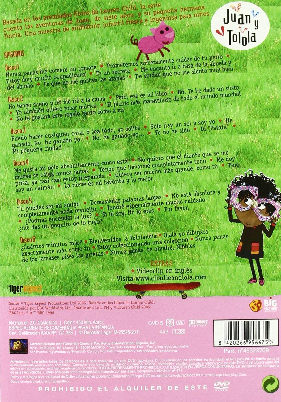 Amazon.com: Juan Y Tolola 1º Temporada (1-6: Kitt Personajes Animados: Movies & TV