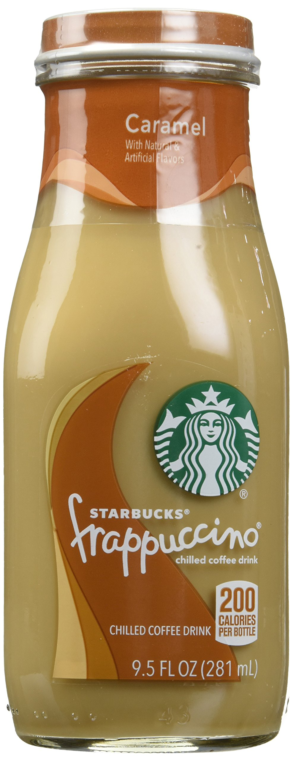 Starbucks Frappuccino Coffee Drink, Caramel, 9.5 Ounce (Pack of 15)