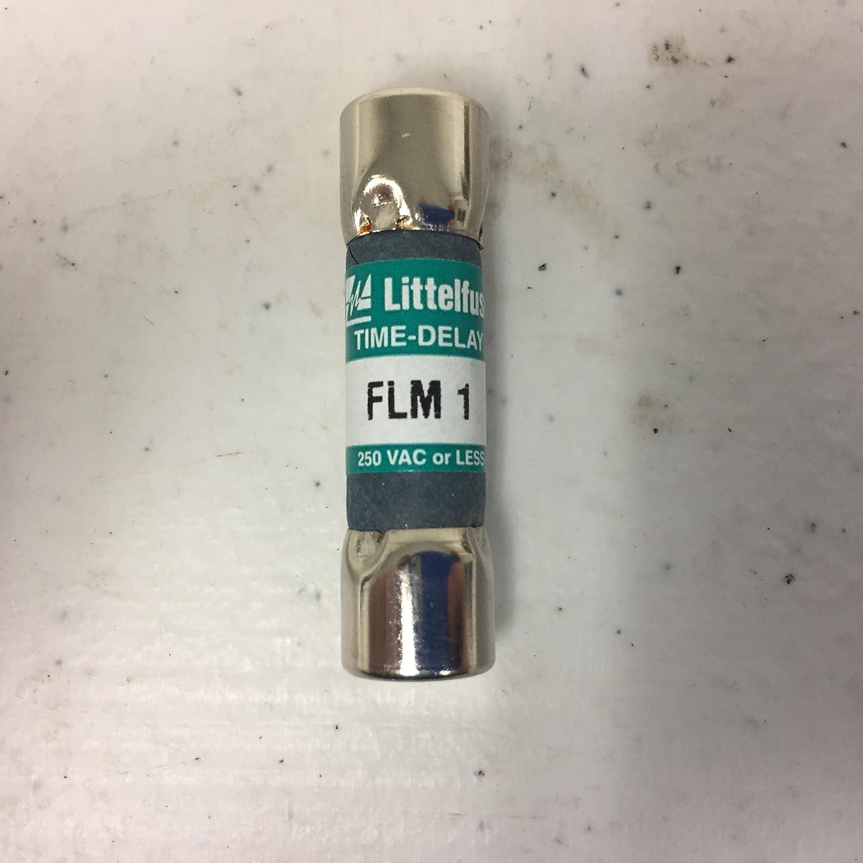FLM-15 15 A Littelfuse FLM15 15 Amp 250V Midget Time-Delay Class CC Fuse
