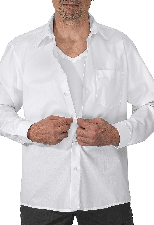 Stop-Sweat Shirt Maglietta antisudore da Uomo Senza Pad Sudore Soluzione Contro Macchie e segni di Sudore sentiti al Sicuro con infusione di Argento e Micro Modal