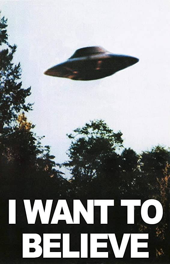 "Amazon.com: X FILES ""I Want to Believe"" Mulders Office Tv Show ..."