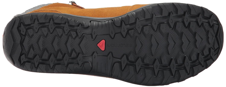 Salomon Women's Ellipse Winter GTX Snow Boot B01MRO4J2W 10 B(M) US Rawhide Leather/Rawhide Leather/Living Coral