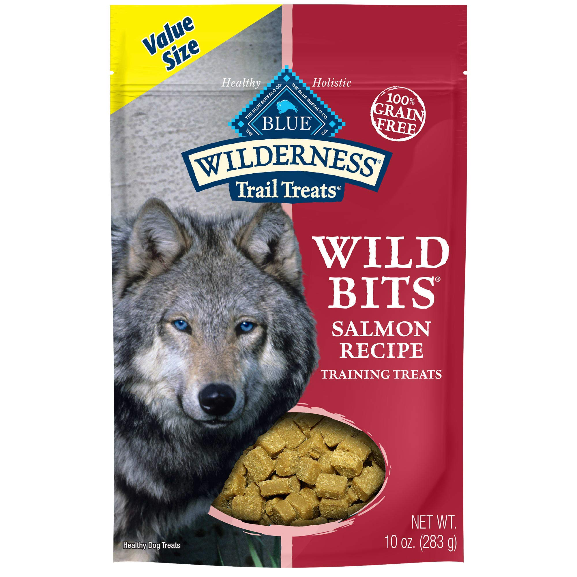 Blue Buffalo Wilderness Trail Treats Wild Bits Grain Free Soft-Moist Training Dog Treats