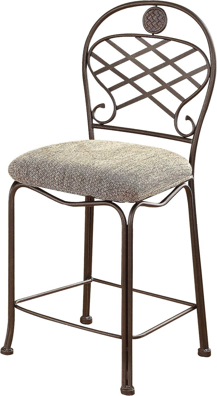 ACME Set of 2 Tavio Counter Chair, 24-Inch