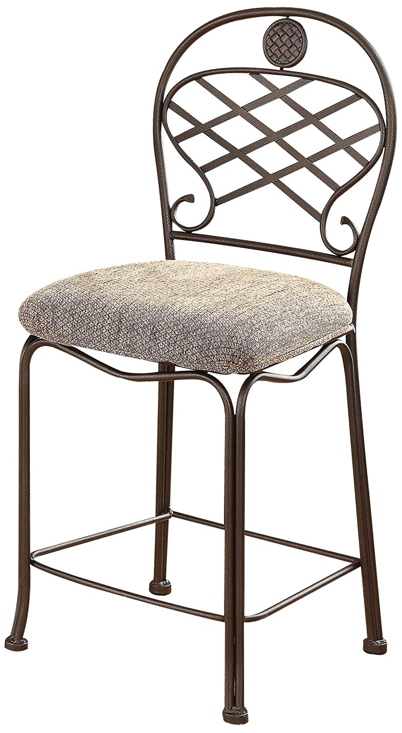 ACME Set of 2 Tavio Counter Chair, 24-Inch