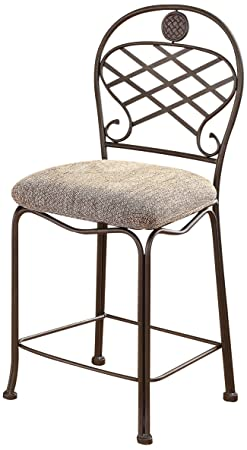 ACME 96057 Set of 2 Tavio Counter Chair, 24-Inch