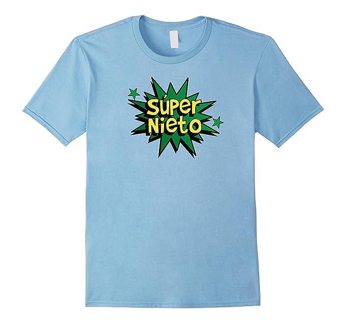 Amazon.com: Super Nieto - Spanish Grandson Comic Book Hero T-shirt Gift: Clothing