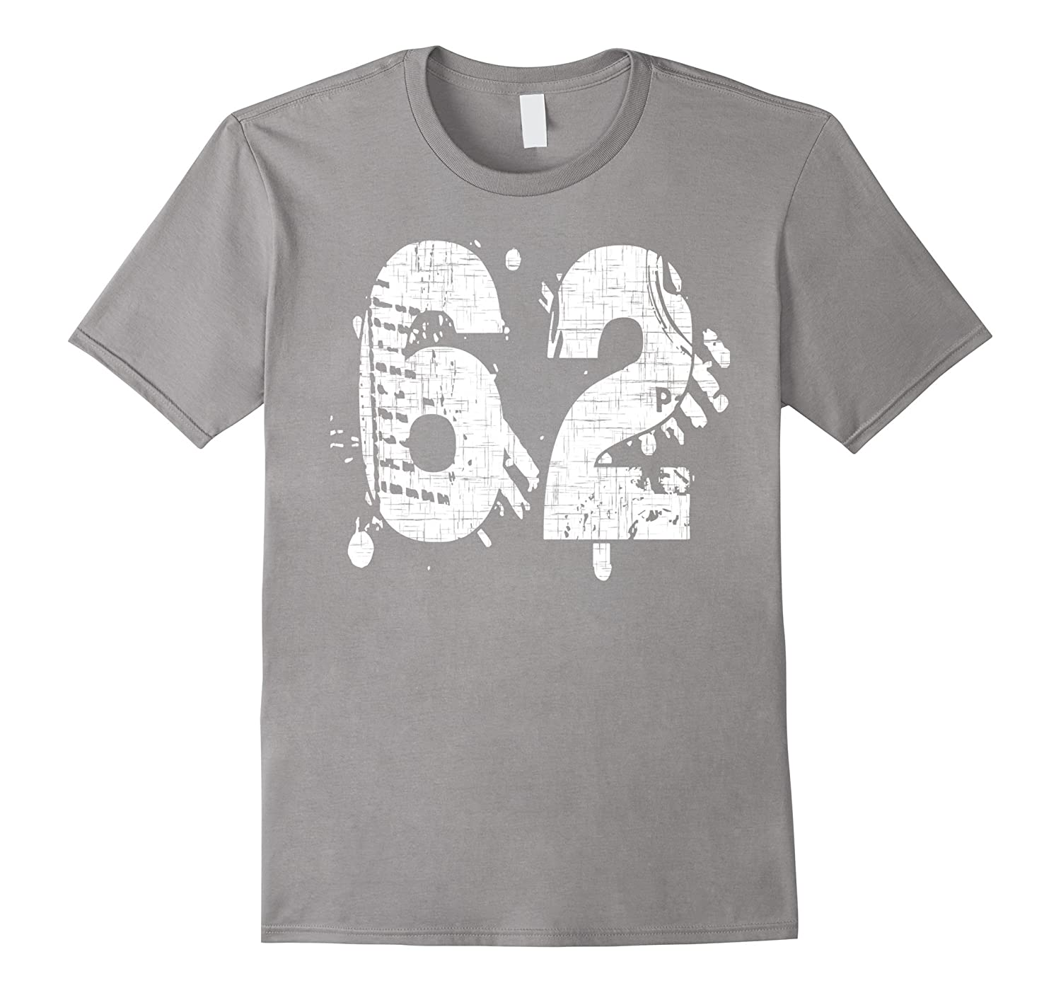62 Grungy Team T-Shirts printed front and back-PL