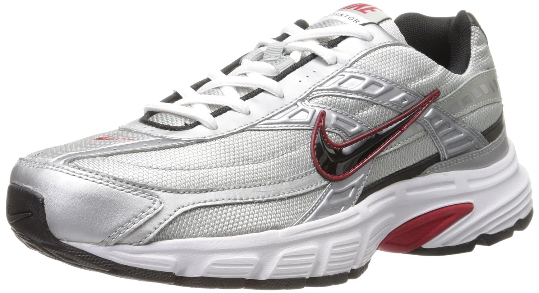Zapatos para correr para hombre Iniciador blanca del azul de cobalto (8 M) 41 EU|Gris (Metallic Silver / Black / White 001)