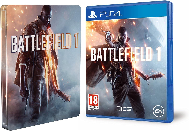Battlefield 1 + Steelbook (Exclusivo en Amazon): Amazon.es: Videojuegos