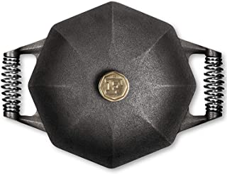 product image for FINEX 5-Quart Cast Iron Dutch Oven, Modern Heirloom, Handcrafted in the USA, Pre-seasoned with Organic Flaxseed Oil