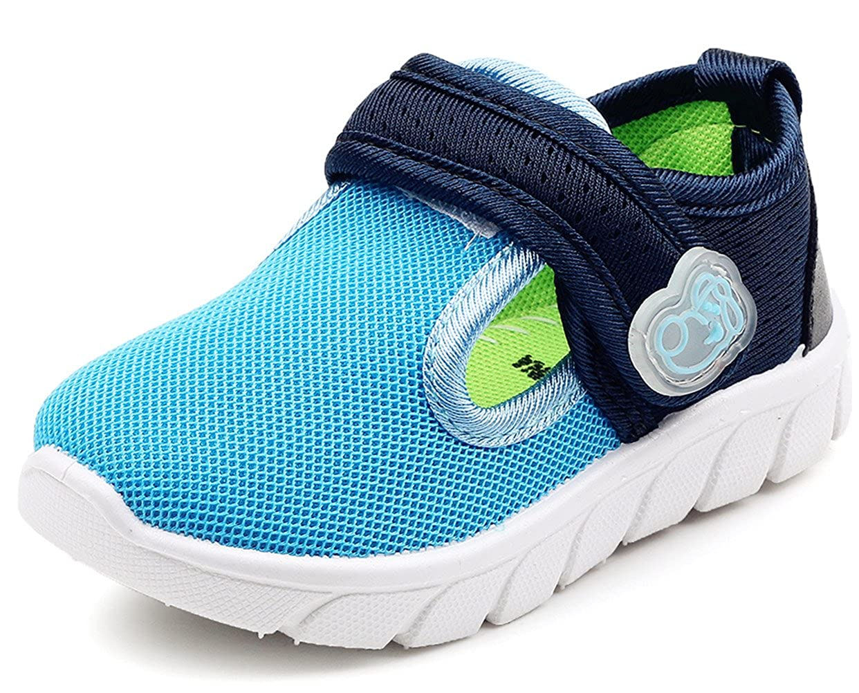 DADAWEN Baby's Boy's Girl's Breathable Strap Light Weight Casual Sneakers Running Shoes 71184