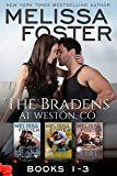 The Bradens at Weston (Books 1-3 Boxed Set): Love in Bloom: The Bradens (English Edition)