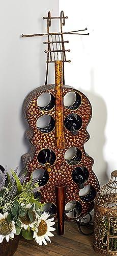 Deco 79 Metal Wine Rack