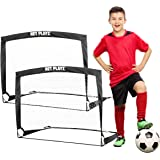NET PLAYZ 4ftx3ft Easy Fold-Up Portable Training Soccer Goal