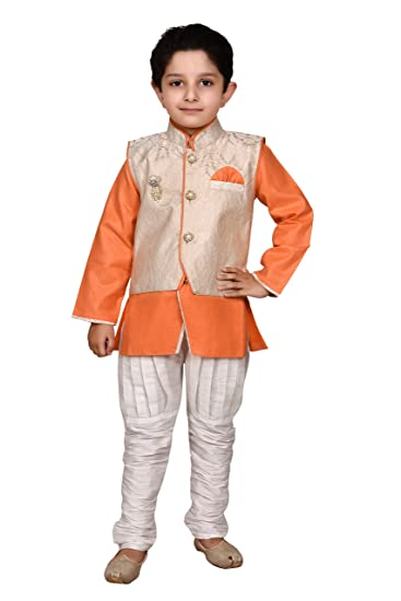 2a64eb089 Boys Designer Indo western kurta & pyjama set for party wear and wedding by  J.D.Creation