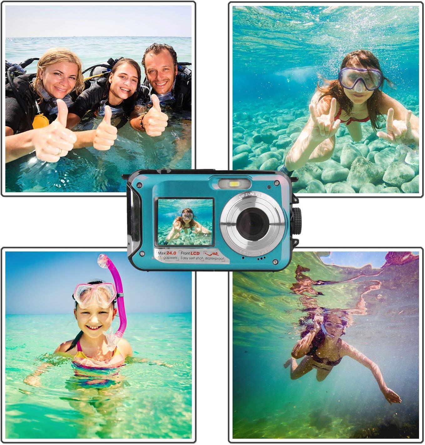 vacaciones Dos impermeable las cámaras desechables de un solo uso de Fuji-playa piscina