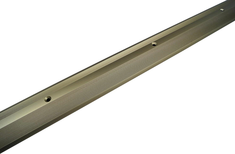 90 STB Bauprodukte Parkett Laminat /Übergangsprofil Dehnungsprofil 40 x 900 mm versch selbstklebend Inklusive Montagematerial bzw Selbstklebend Titan Oberfl/ächen